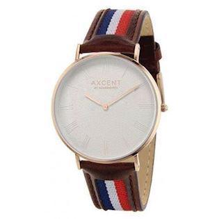 Axcent of Scandinavia Career rosa forgyldt rustfri stål Quartz Unisex ur, model IX5700R-11